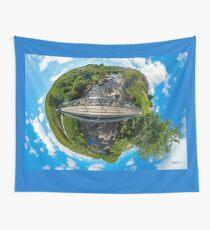 Footbridge over Glen River, Carrick, SW Donegal Wall Tapestry