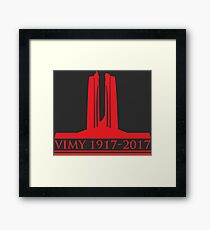 Vimy 100th Commemoration Framed Print