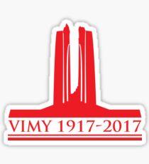 Vimy 100th Commemoration Sticker