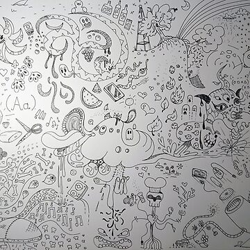 Doodle Canvas by alexcola