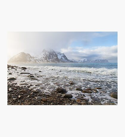 Lofoten Beach Photographic Print