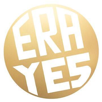 ERA YES Gold Logo by starkle