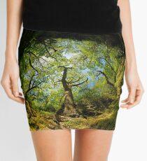 Ness Glen, Mystical Irish Wood Mini Skirt