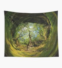 Ness Glen, Mystical Irish Wood Wall Tapestry