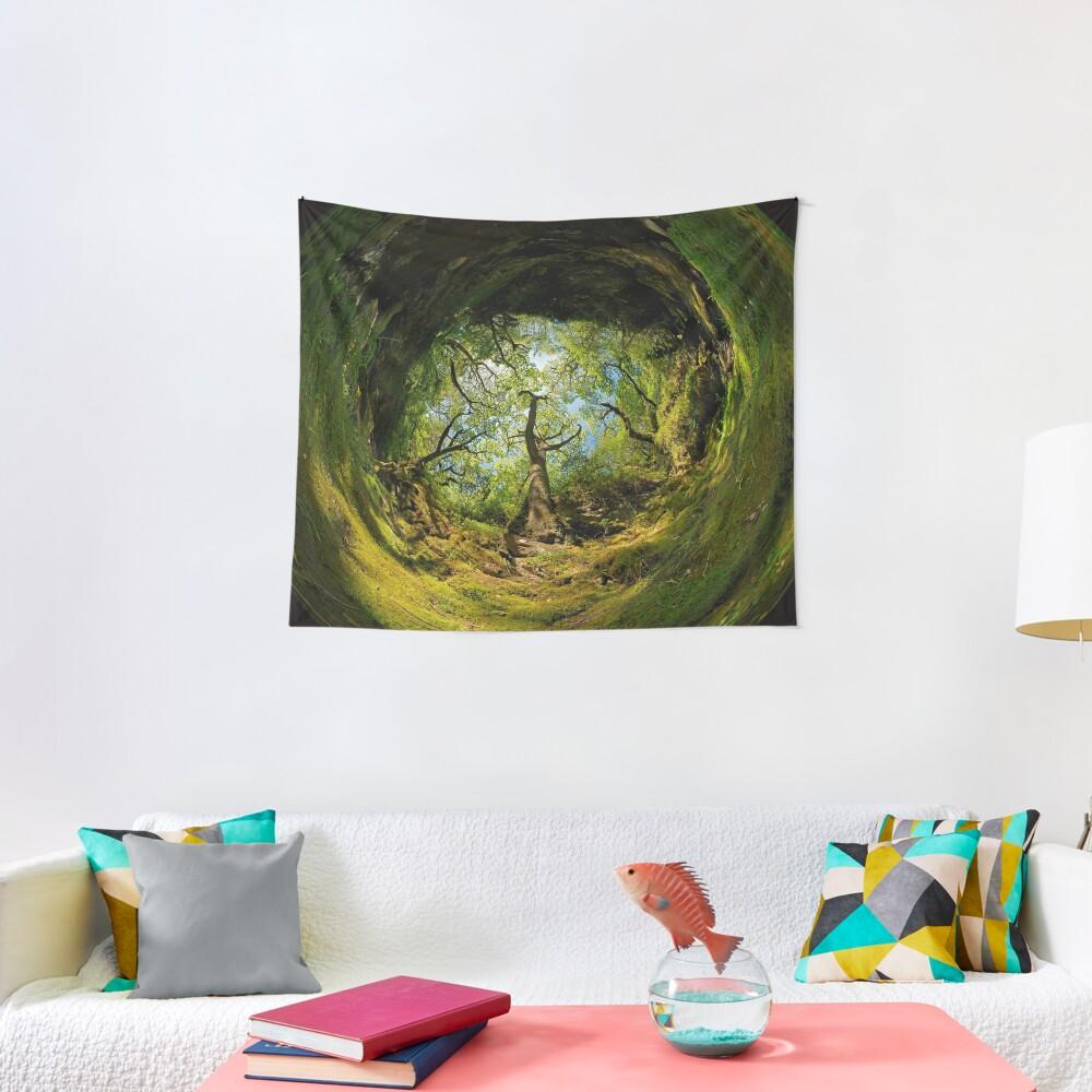 Ness Glen, Mystical Irish Wood Tapestry