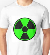 Radiation Warning Sign Unisex T-Shirt