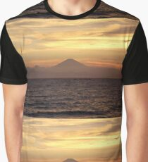 Mt. Fuji Sunset V Graphic T-Shirt