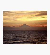 Mt. Fuji Sunset V Photographic Print