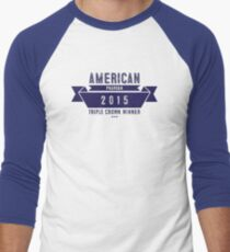 American Pharoah Men's Baseball ¾ T-Shirt