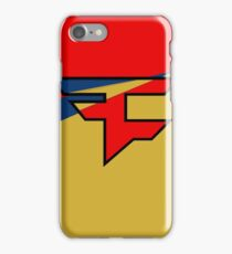 Faze Poster iPhone Case/Skin