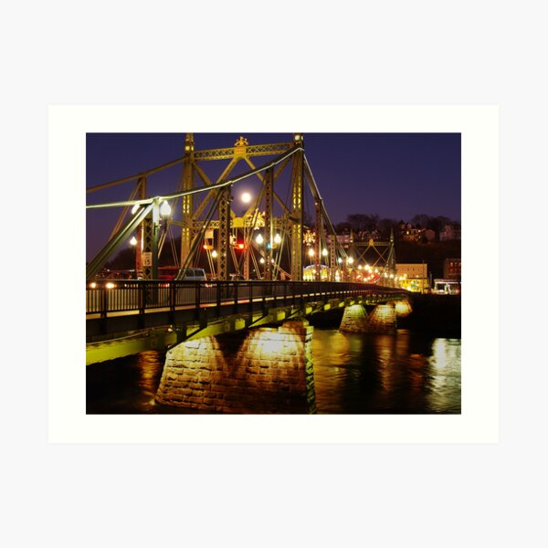 Free Bridge To Phillipsburg Art Print
