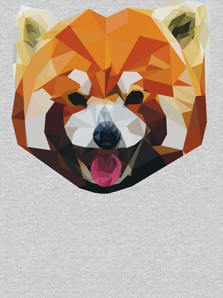 Red Panda Tee Shirt | V-Neck