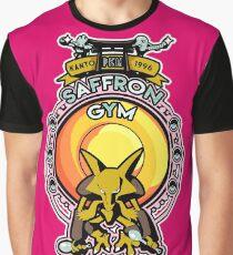 Saffron Gym Graphic T-Shirt