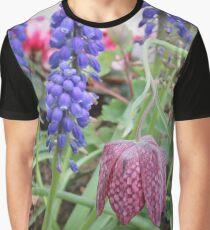 Fritillary And Muscari Graphic T-Shirt