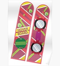 Back to the Future Hover Board Poster