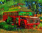Hippy Bus goes to S'cool by Bob Moore