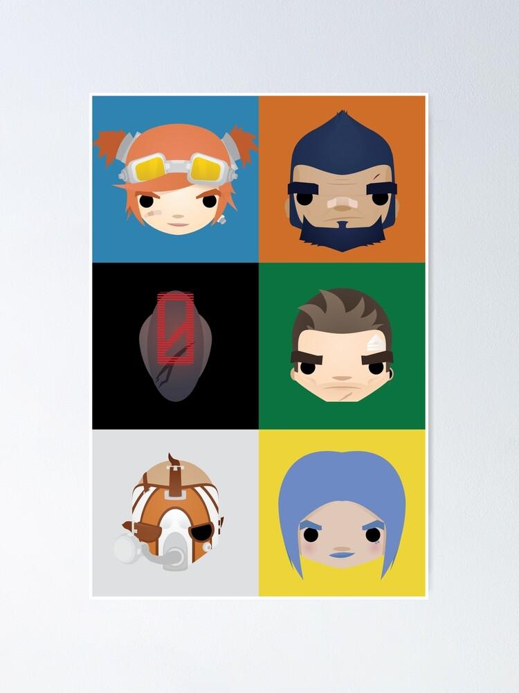 Alternate view of Vault Hunters Poster