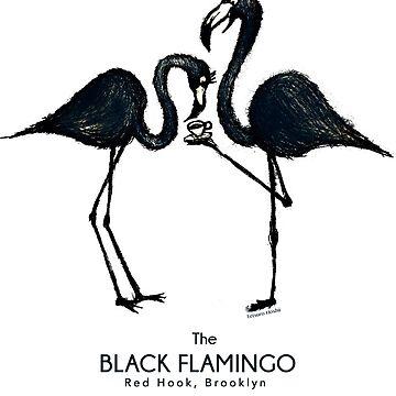 The Black Flamingo by tetsurohoshii