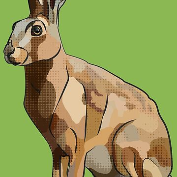 Hattie's Hare (Spring Hare Easter Bunny) by BeeFoxTree