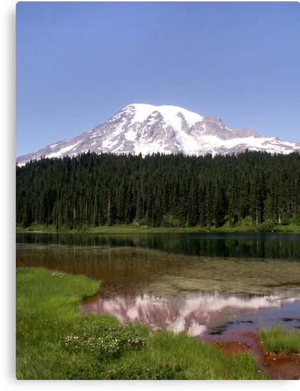 Mountainous Reflections by Michelle Boyer