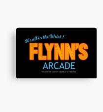 Tron - Flynns Arcade Original HD Leinwanddruck