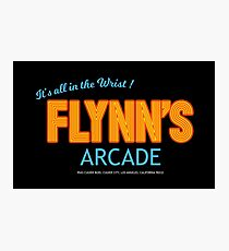 Tron - Flynn's Arcade Original HD Photographic Print