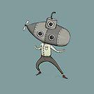 Submarine Man by agrapedesign