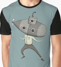 Submarine Man Graphic T-Shirt
