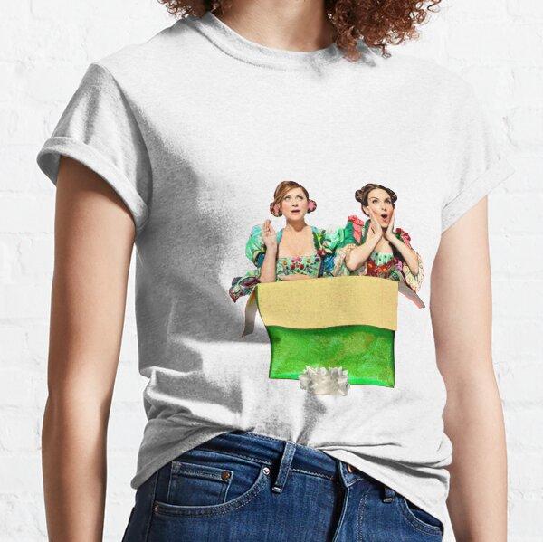 Tina Fey & Amy Poehler - SNL Christmas Bumper Classic T-Shirt