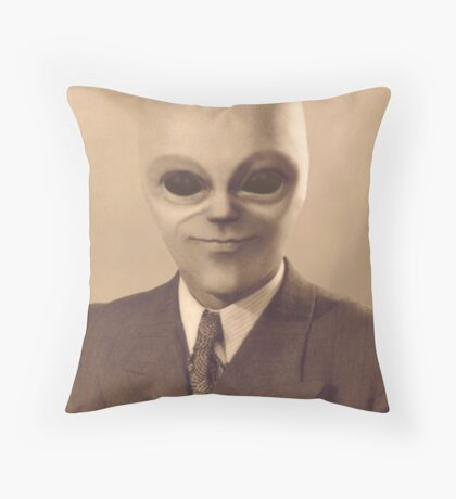 The Real Mr Woolworth Throw Pillow