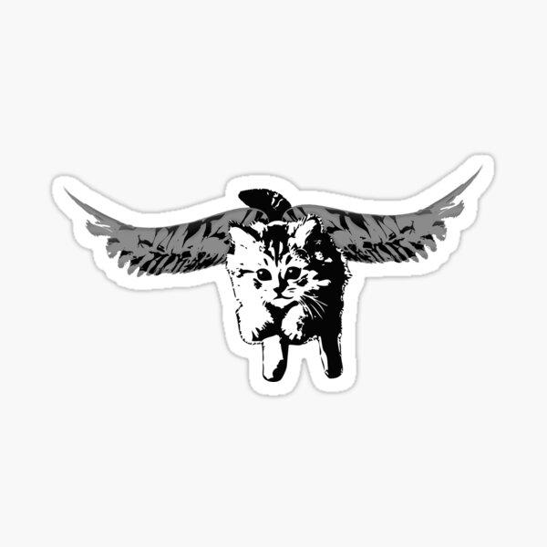If Kittens Had Wings Sticker