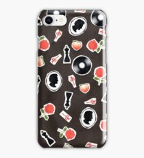 RA ChaRActer Pattern 2  iPhone Case/Skin