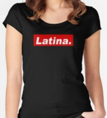 Latina Women's Fitted Scoop T-Shirt