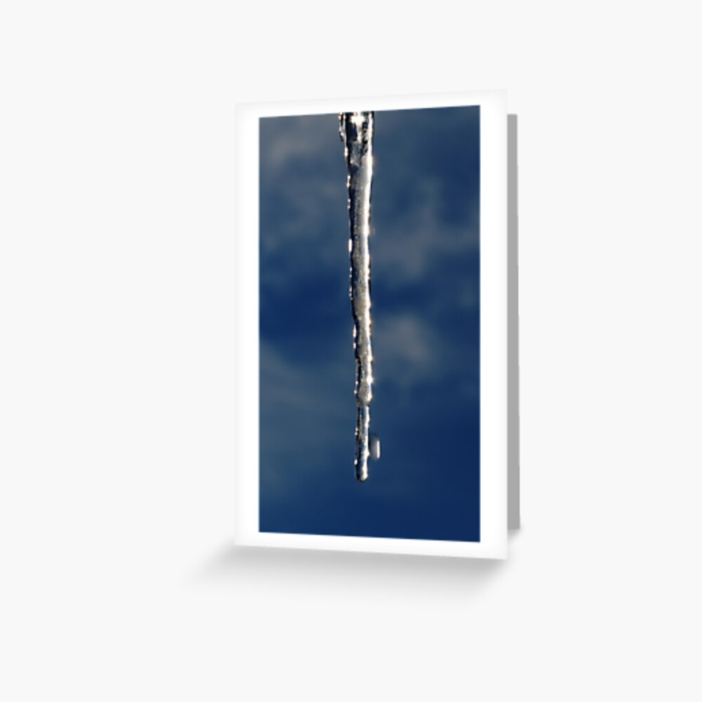 Shining Spear Greeting Card