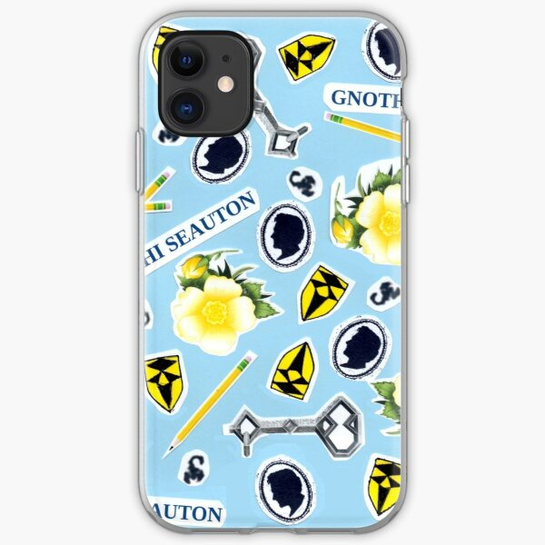 RA ChaRActer Pattern 1 iPhone Soft Case