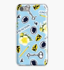 RA ChaRActer Pattern 1 iPhone Case/Skin