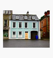 Blue House, Ramelton, Donegal, Ireland Photographic Print