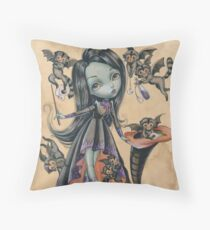 Elphaba And the Flying Monkeys Throw Pillow