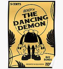 BATIM™ Bendy in The Dancing Demon Poster
