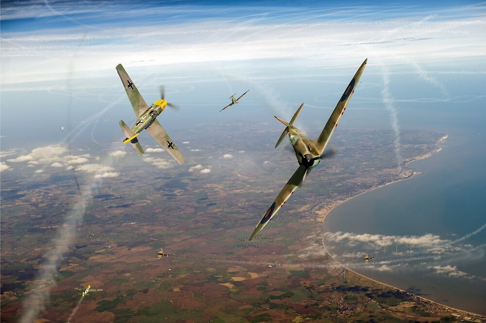 Battle of Britain duellists: Spitfire and Bf 109 head to head by Gary Eason