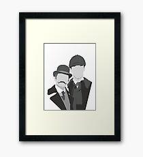 Watson & Holmes Framed Print