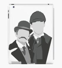 Watson & Holmes iPad Case/Skin