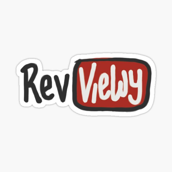 Reviewy on YouTube Sticker