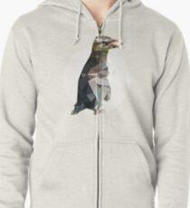 Penguin Zipped Hoodie