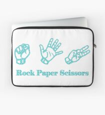 Ro Sham Bo - Rock Paper Scissors Laptop Sleeve