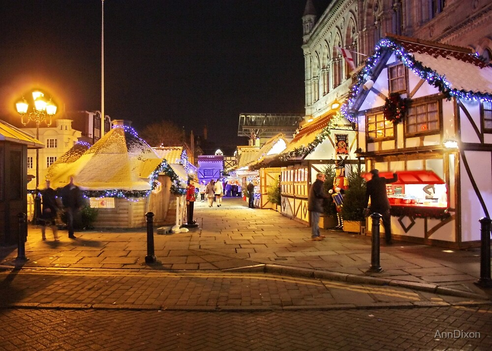 Last Minute Shopping : Chester Town Hall Square by AnnDixon