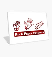 Ro Sham Bo - Rock Paper Scissors Laptop Skin