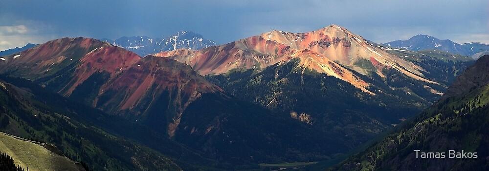 The Red Mountains, Colorado by Tamas Bakos