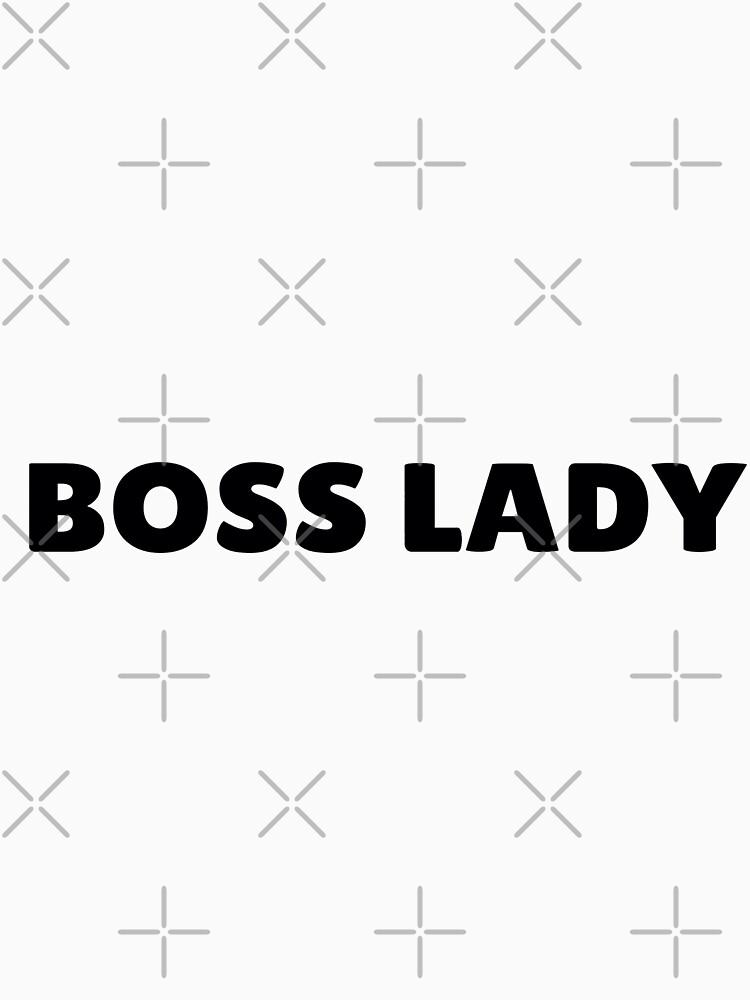 Boss Lady in Schwarz von KirstenJRenfroe