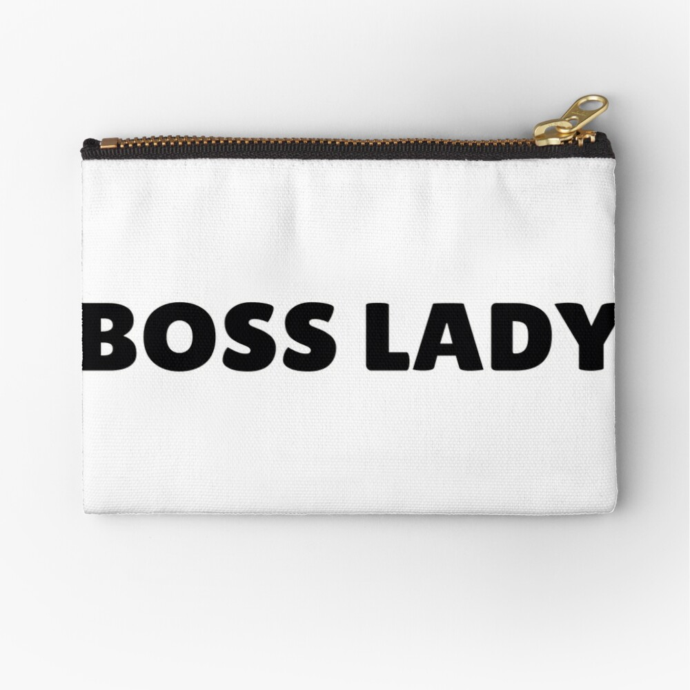 Boss Lady in Schwarz Täschchen